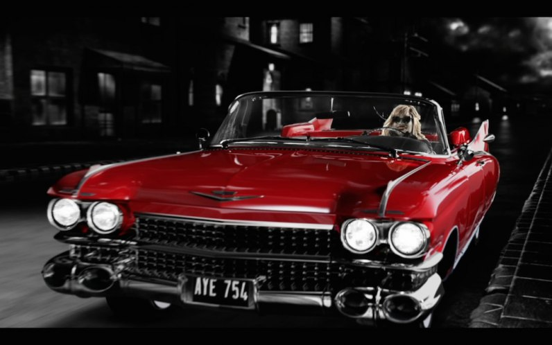 1959 Cadillac Eldorado Biarritz Convertible + Sin City 2 A Dame To Kill for