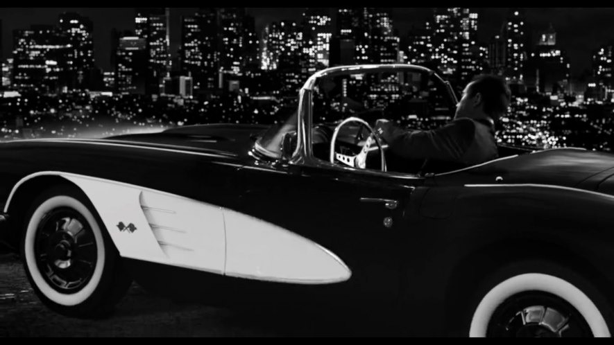 1960 Chevrolet Corvette C1, Sin City A Dame to Kill For
