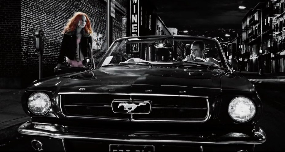 1965 Ford Mustang, Sin City A Dame to Kill For 2014