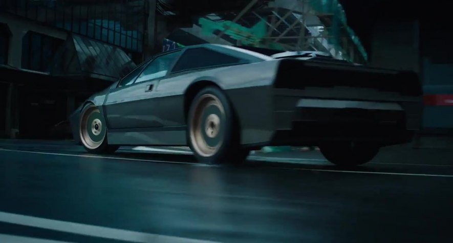 Lotus Esprit Type 82, Ghost in the Shell + 2017