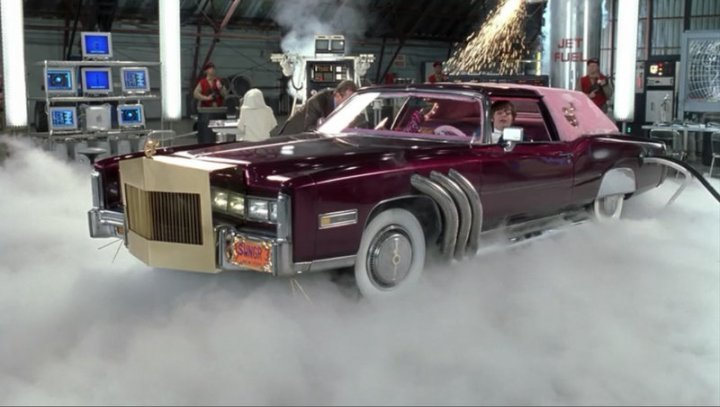 1976 Cadillac Eldorado Customized, Austin Powers in Goldmember 2002