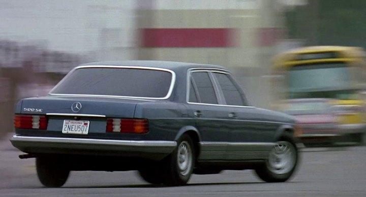 1981 Mercedes-Benz 500 SE W126, K9+ 1989