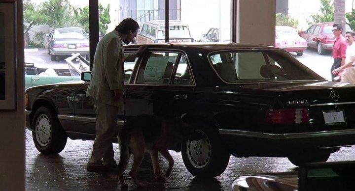 1986 Mercedes-Benz 420 SEL W126, K-9 + 1989