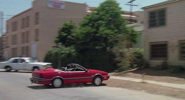 1987 Chrysler LeBaron Convertible