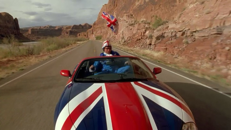 2001 Jaguar XK8 X100, Austin Powers + Goldmember