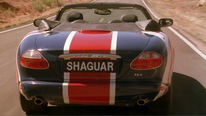 2001 Jaguar XK8 X100, Austin Powers in Goldmember 2002