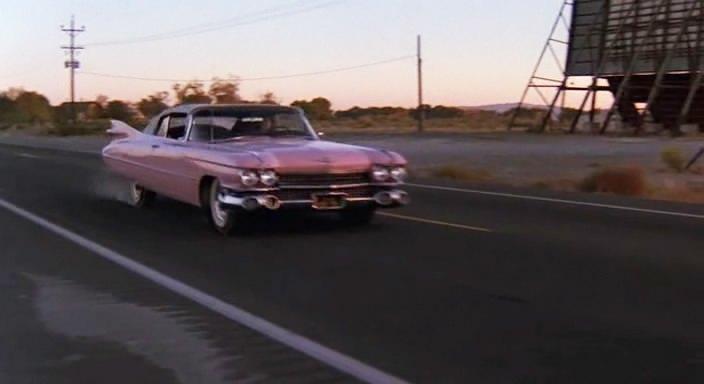 1959 Cadillac Series 62 Convertible 6267F + Pink Cadillac film