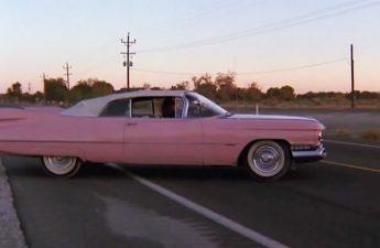 1959 Cadillac Series 62 Convertible 6267F + Pink Cadillac 1989