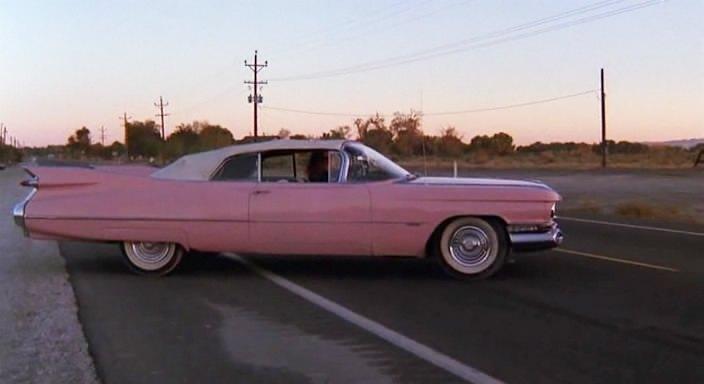 1959 Cadillac Series 62 Convertible 6267F + Pink Cadillac