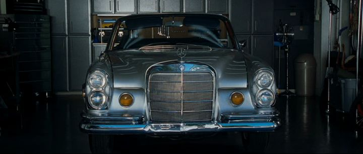 1969 Mercedes-Benz 280 SE Convertible W111 + The Hangover
