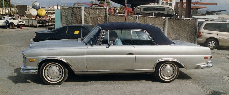 1969 Mercedes-Benz 280 SE Convertible W111 + The Hangover 2009