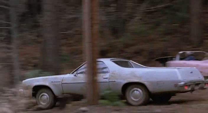 1977 Chevrolet El Camino + Pink Cadillac