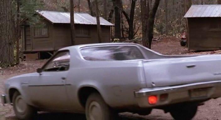 1977 Chevrolet El Camino + Pink Cadillac 1989