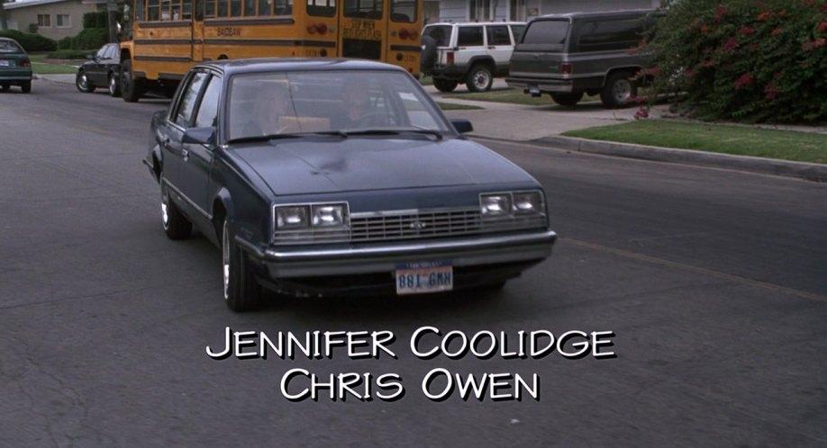1982 Chevrolet Celebrity + American Pie 1999