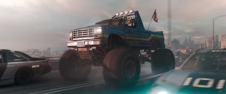 Custom Made Monster Truck Bigfoot 10 Bodied as 1993 Ford F-250