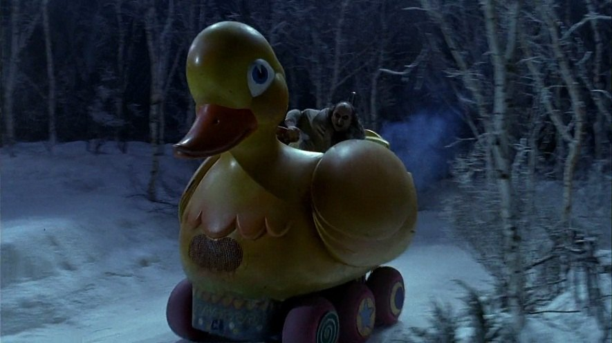 Made for Movie Duck Based on 6-wheel ATV + Batman Returns 1992
