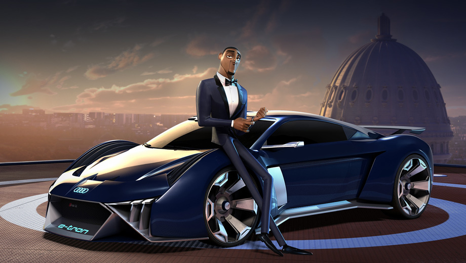 Spies in Disguise + Audi RSQ e-tron
