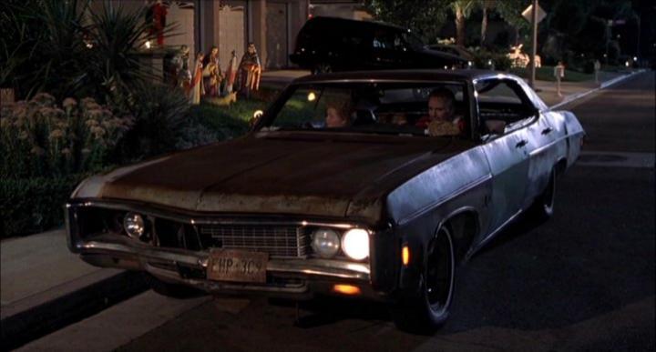1969 Chevrolet Impala Sport Sedan 6439, Bad Santa 2003