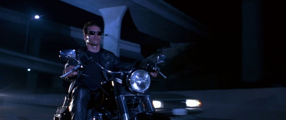 1991 Harley-Davidson FLSTF Fat Boy, Terminator 2