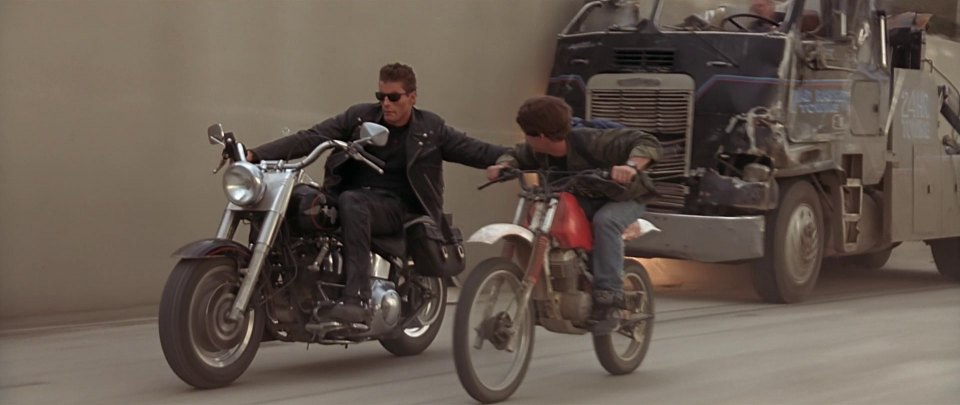 1991 Harley-Davidson FLSTF Fat Boy, Terminator 2 Judgment Day 1991