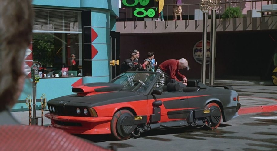 1976 BMW 633 CSi Custom Convertible E24, Back to the Future 2 1989