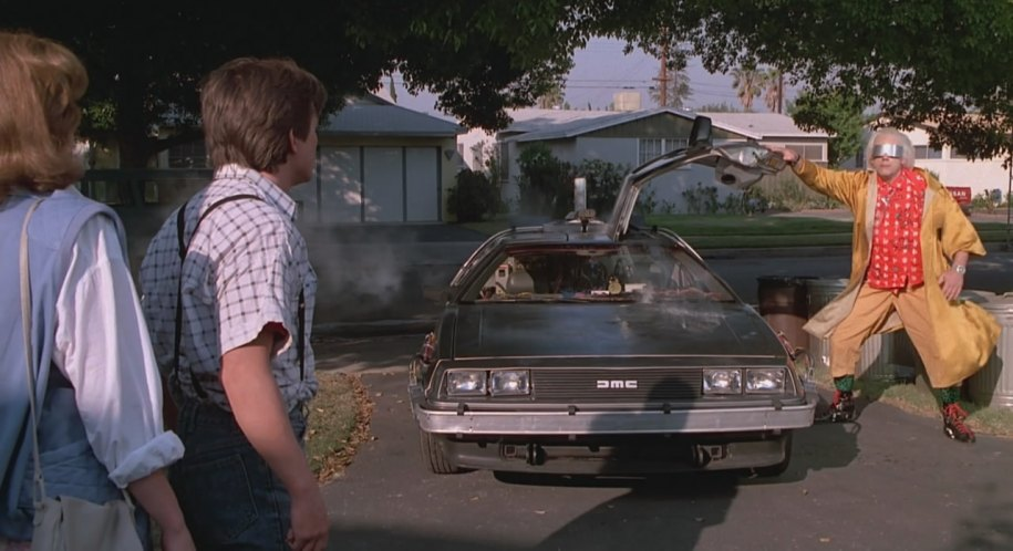 1982 De Lorean DMC 12, Back to the Future 2 1989